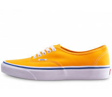 Chaussures Vans Authentic Orange et bleu