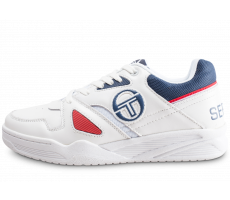 Chaussures Sergio Tacchini Top Play blanche et rouge