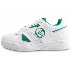 Chaussures Sergio Tacchini Top Play blanche et verte