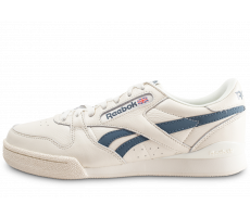 Chaussures Reebok Phase 1 Pro blanche et bleue