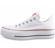 Chaussures Converse Chuck Taylor All Star low Platform blanche femme