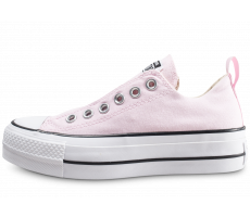 Chaussures Converse Chuck Taylor All Star low Platform rose femme
