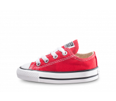 e6422f293be9c Chaussures Converse Chuck Taylor All Star Bébé rouge