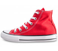 Chaussures Converse Chuck Taylor All Star Hi rouge enfant