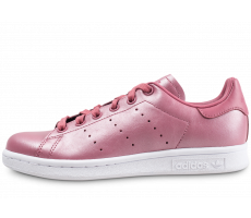 Chaussures adidas Stan Smith Shiny rose femme