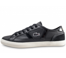 Chaussures Lacoste Sideline noire femme