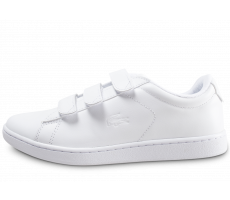 Chaussures Lacoste Carnaby blanche femme