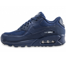 deb8feb9297 Chaussures Nike Air Max 90 Essential bleu marine
