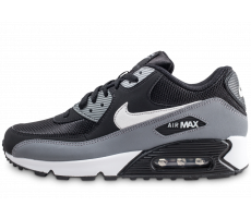 the best attitude 4b356 95b1e Chaussures Nike Air Max 90 Essential gris noir et blanc