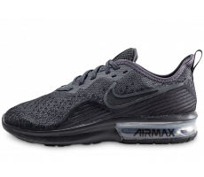 Chaussures Nike Air Max Sequent 4 noir anthracite