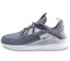 Chaussures Nike Renew Arena grise et blanche
