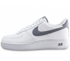 new style 8624a d6cda Chaussures Nike Air Force 1  07 LV8 blanche et grise