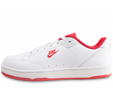 Chaussures Nike Grandstand 2 blanche et rouge