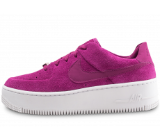 Chaussures Nike Air Force 1 Sage Low rose fuchsia femme