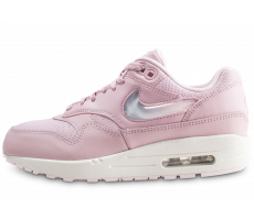 save off 1a5f3 42236 Chaussures Nike Air Max 1 Premium rose femme
