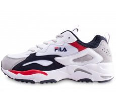Chaussures Fila Ray Tracer blanc bleu rouge