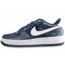 Chaussures Nike Air Force 1 Vday noire et blanche junior