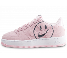 new arrival ea8e0 2b3f7 Chaussures Nike Air Force 1 LV8 rose Have a nike Day junior