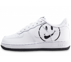 Chaussures Nike Air Force 1 LV8 blanche enfant