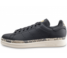 Chaussures adidas Stan Smith New Bold noire femme