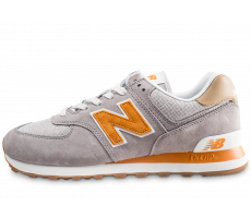 Chaussures New Balance ML574MDG gris et orange