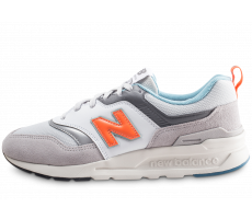 Chaussures New Balance 997 grise et orange