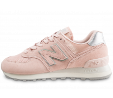 Chaussures New Balance WL574OPS rose femme