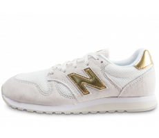 Chaussures New Balance WL520GDA gris et or