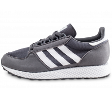separation shoes 01d31 3bbff Chaussures adidas Forest Grove grise et blanche junior