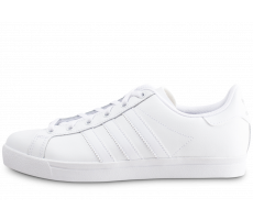 Chaussures adidas Coast Star triple blanc junior