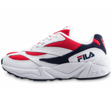 Chaussures Fila 94 Low blanche et rouge