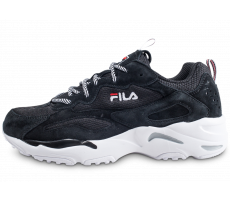 Chaussures Fila Ray Tracer noire et blanche junior