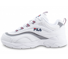cheap for discount 8b387 ba1fe Chaussures Fila Ray blanche enfant