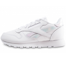 Chaussures Reebok Classic Leather blanc iridescent enfant