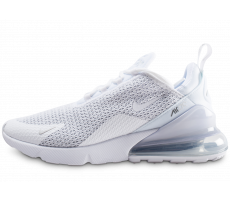 Chaussures Nike Air Max 270 blanc argent