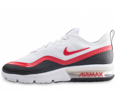 Chaussures Nike Air Max Sequent 4.5 SE blanche et rouge