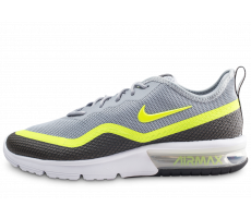 Chaussures Nike Air Max Sequent 4.5 SE grise et jaune