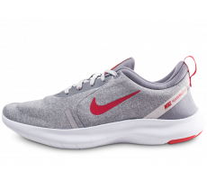 Chaussures Nike Flex Experience RN 8 grise et rouge
