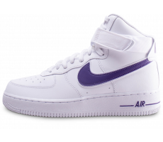 finest selection 02bd3 8c9f6 Chaussures Nike Air Force 1 High Court Purple
