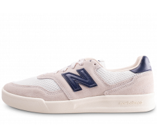 Chaussures New Balance 300 blanche et bleue