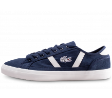 Chaussures Lacoste Sideline 119 bleue et blanche