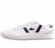 Chaussures Lacoste Sideline 119 blanche et bleue