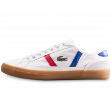 Chaussures Lacoste Sideline 119 blanche et gum