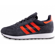 Chaussures adidas Forest Grove gris et orange