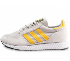 Chaussures adidas Forest Grove gris et or