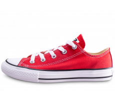 Chaussures Converse Chuck Taylor All Star enfant basse rouge
