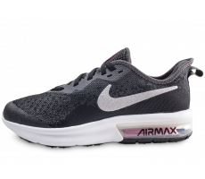 Chaussures Nike Air Max Sequent 4 noire junior
