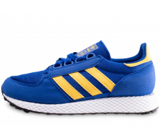 Chaussures adidas Forest Grove bleue et jaune junior