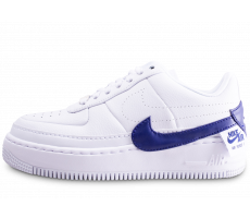 Chaussures Nike Air Force 1 Jester XX blanc et violet femme