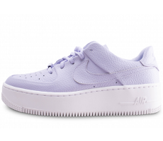 Chaussures Nike Air Force 1 Sage Low violette